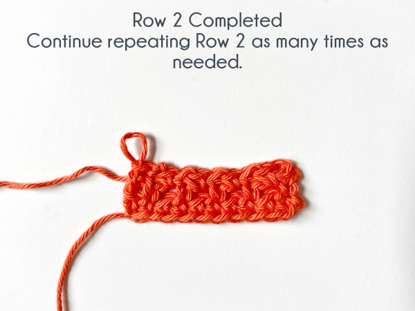 """""""Row 2 Completed. Continue repeating Row 2 as many times as needed."""""""