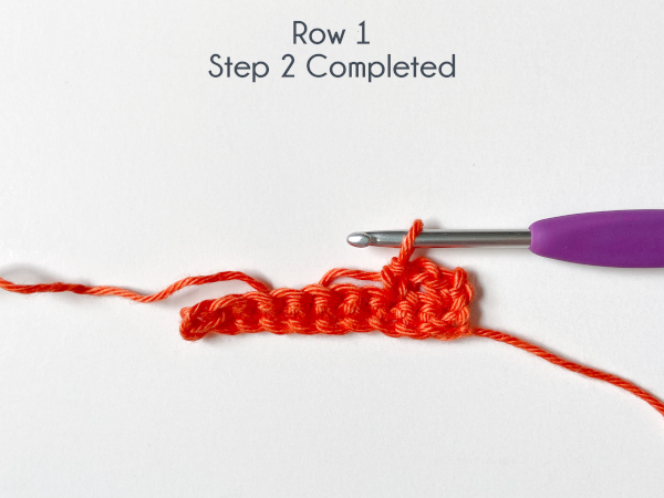 """""""Row 1, Step 2 Completed"""""""