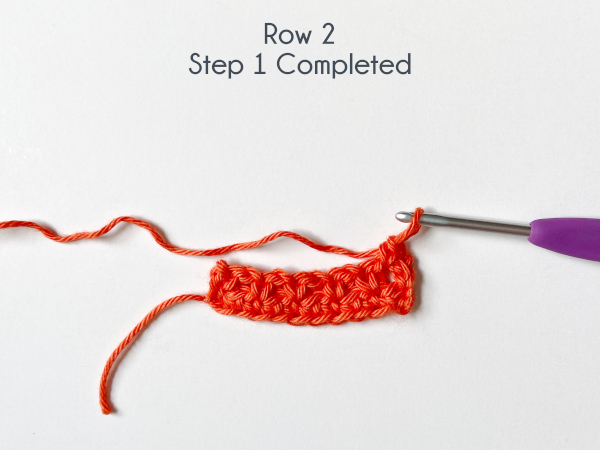 """""""Row 2, Step 1 Completed"""""""