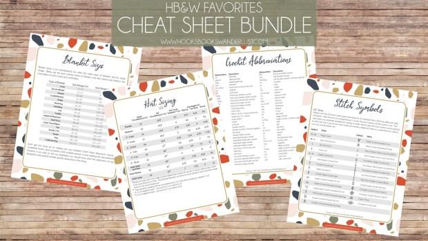 HB&W Favorites Cheat Sheet Bundle; www.hooksbookswanderlust.com