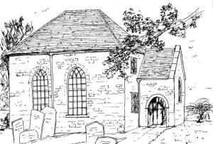 Hook Norton Baptist Chapel Sketch