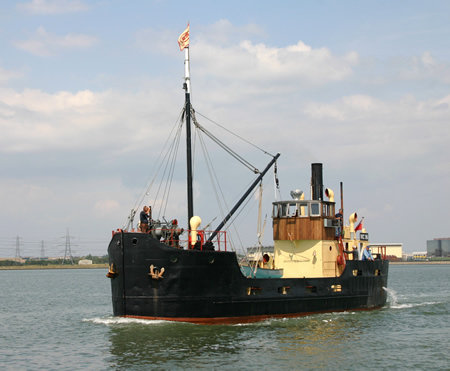 Hoo Ness Yacht Club VIC 96 Returns To The River Medway