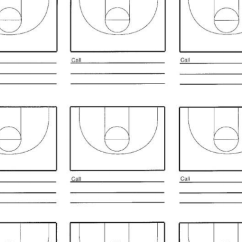 Basketball Court Diagram For Coaches Push Pull Wiring Nine – Hoop Coach
