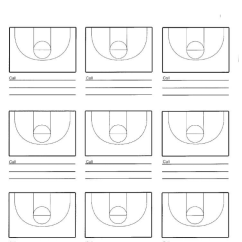 Basketball Court Diagram For Coaches Lighting Wiring Junction Box Nine Hoop Coach