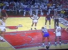 Bill Cartwright Free Throw From