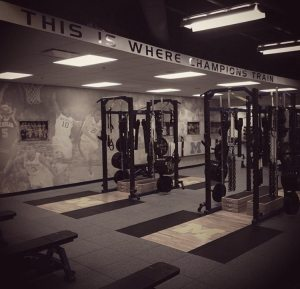 Michigan Weight Room