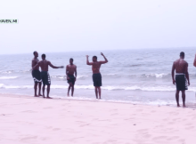 beach workout michigan state
