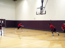 backdoor passing drill