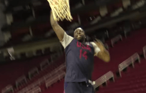 Team USA Practice - Draymond Green Dunking