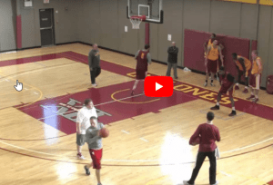 Iowa State Post Player Workout Video