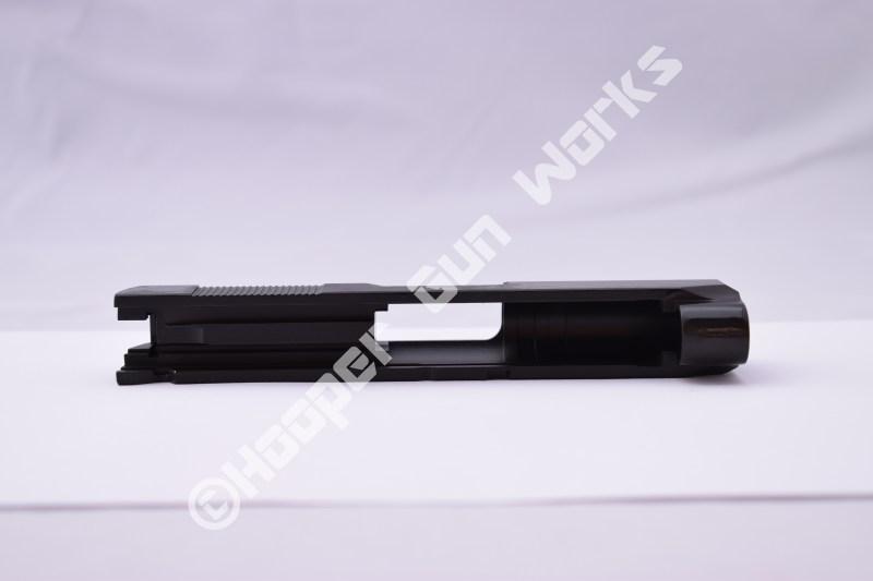 "Rock Island Armory 3.5"" Compact / Officer's Size 1911 Slide 9mm Rock Standard Novak Black"