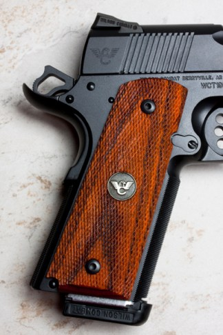 Wilson Combat 351BFS (Grips, 1911 Full-Size, Cocobolo, Fully Checkered)