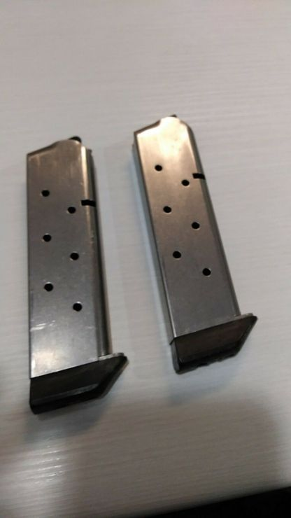 Pair of Chip McCormick 1911 magazines 45 acp 8rd -- mag #103