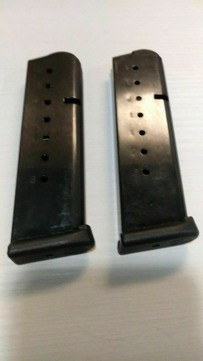 Pair of Taurus Factory 1911 magazines 45 acp 8rd -- mag #78