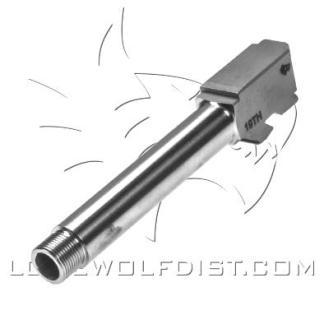 PVD Coated LWD Barrel M/19 9mm Threaded 1/2 x 28 Copper