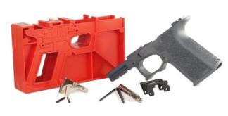 Poly 80 Compact Pistol Frame Kit G19/23/32 Grey Textured Grip