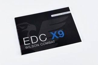Wilson CombatBOOKS   DVDSOperations Manual, Replacement, Wilson Combat EDC X9846BOOK