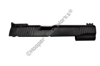 "Rock Island Armory 5"" Full Size 1911 Slide 10mm/40SW Wide & Top Serrations LPA WD BULL"