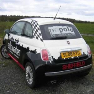 Saltwater car graphics