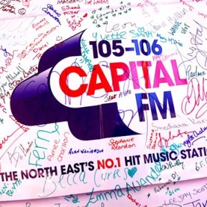 Capital FM car wrap
