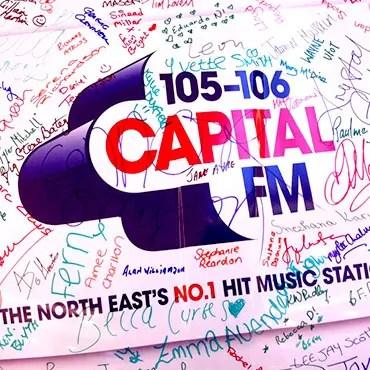 Capital FM car wrap