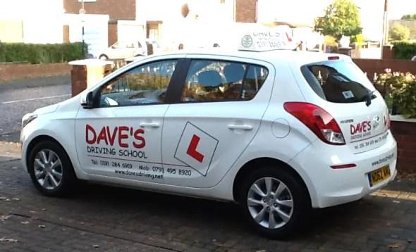 Driving School Car Graphics