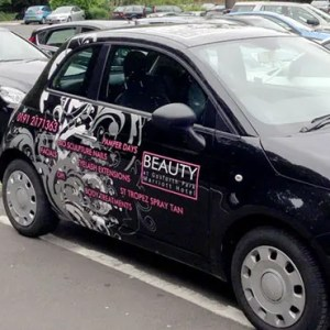 Car Graphics fiat 500