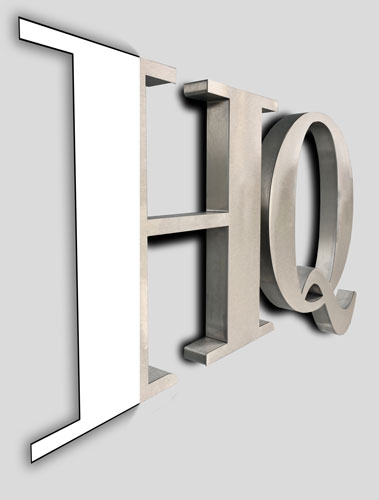 Metal 3d letters for signs