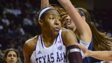 Texas A&M snaps Rice's win streak to ring in New Year