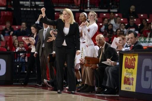 Maryland head coach Brenda Frese. Photo: Maryland Athletics.