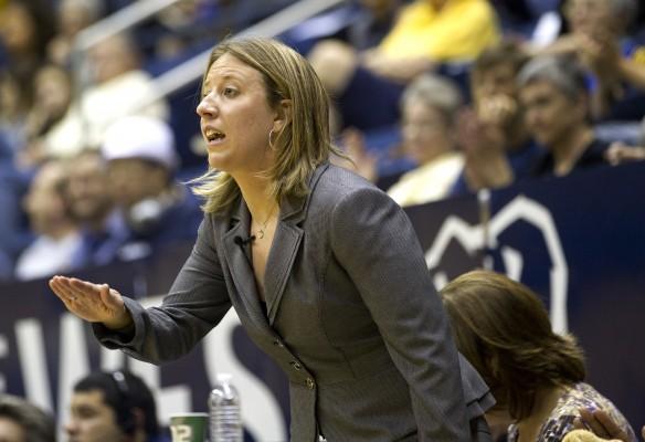 Cal coach Lindsay Gottlieb. Photo: Golden Bear Sports.