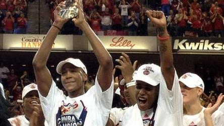 Dishin & Swishin 10/25/12 Podcast: Celebrating the WNBA Finals with Angela Taylor and the Indiana Fever with chat replays of Lin Dunn & Briann January
