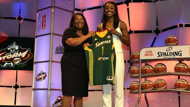 2015 WNBA draft results: Seattle tabs Jewell Loyd as No. 1 pick