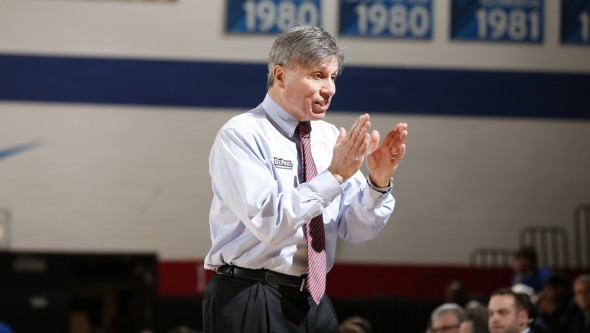 DePaul head coach Doug Bruno. Photo: DePaul Athletics.