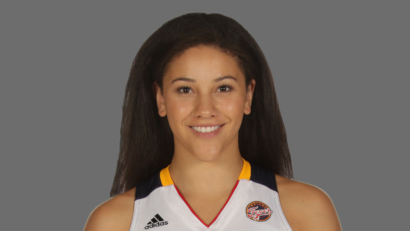 June 2015 WNBA Rookie of the Month, Natalie Achonwa.