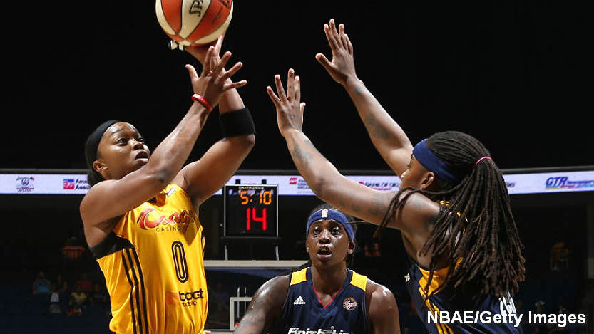 Shock defeat Fever 76-70 to earn first-ever playoff berth