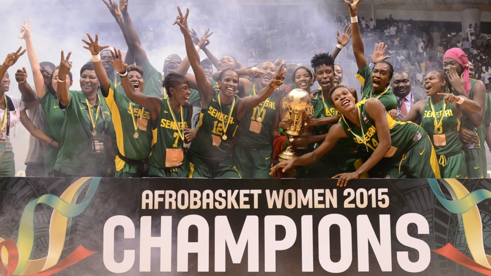 Senegal clinches 11th AfroBasket Women title and qualifies for the 2016 Olympics