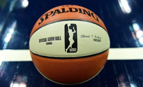 WNBA ball. Image: ESPN.