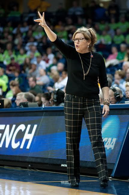 Vanderbilt coach Melanie Balcomb.