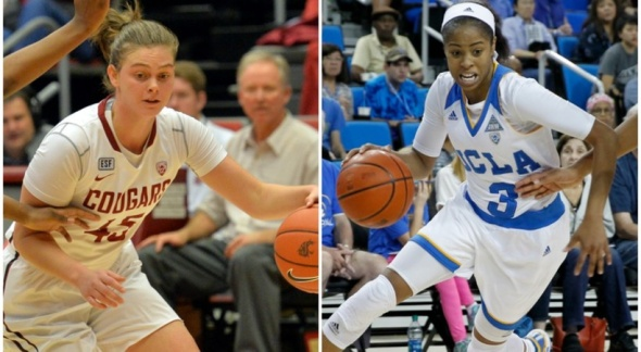 Pac-12 Women's Basketball Players of the Week for the week of Nov. 16-22.