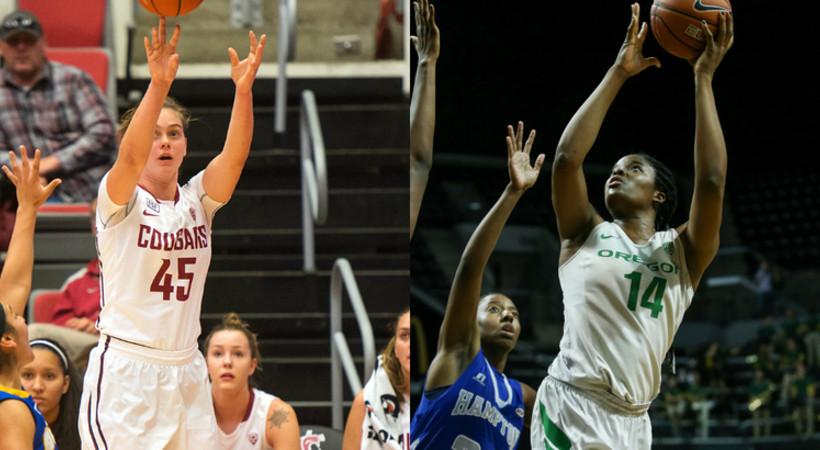 Pac-12 Players of the Week: Oregon's Jillian Alleyne and Washington State's Borislava Hristova