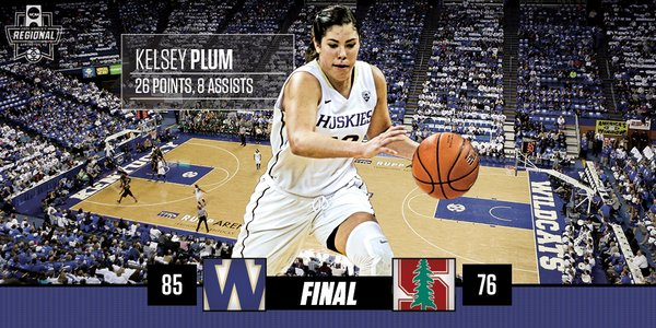 Washington headed to first Final Four after defeating Stanford 85-76