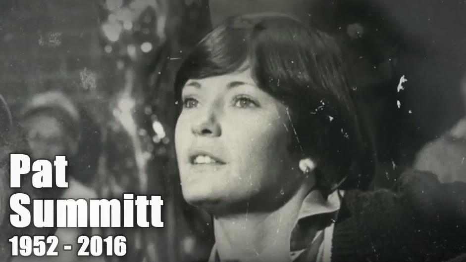 Legendary  Basketball Coach Pat Summitt Dies at 64