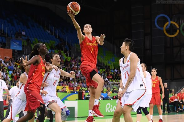 August 10, 2016 - Spain's Alba Torrens. Photo: FIBA.