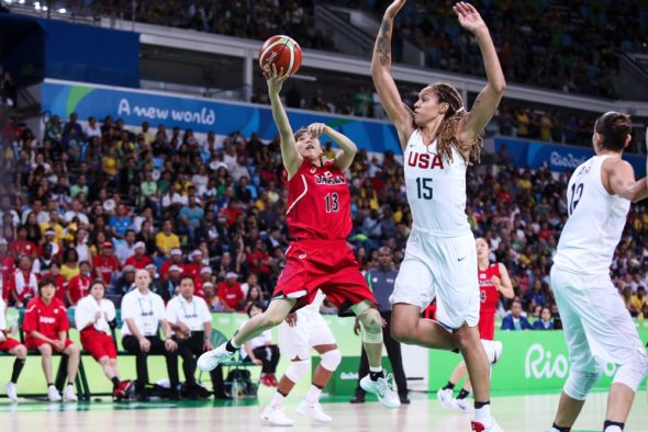 August 16, 2016. USA vs. Japan. Photo: FIBA.