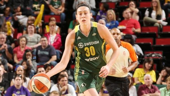 Breanna Stewart. Photo: WNBA/NBAE via Getty Images.