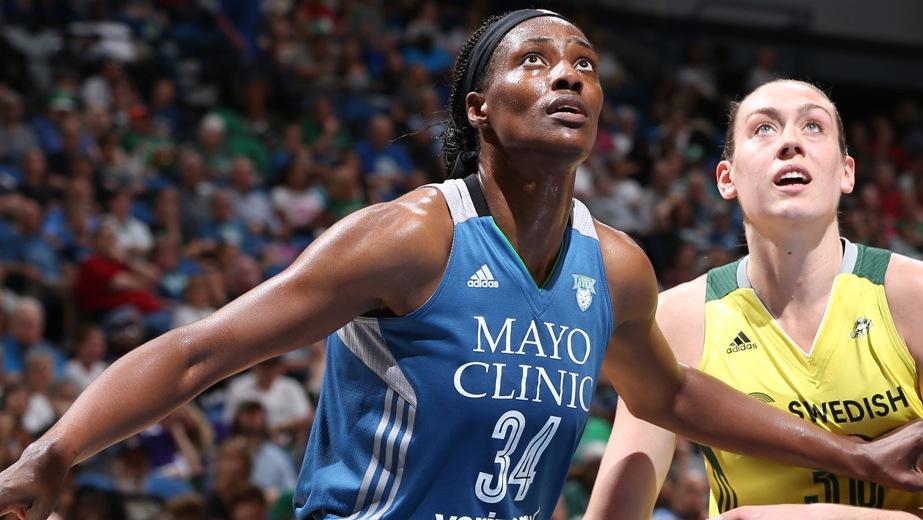 Lynx Center Sylvia Fowles Named 2016 WNBA Defensive Player of the Year, All-Defensive Team announced