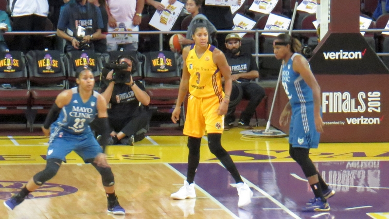 WNBA Finals Game 3: Sparks beat Lynx 92-75, come within one game of the championship