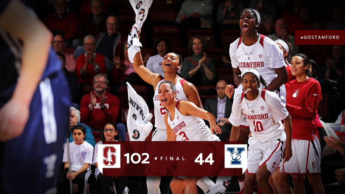 Stanford routs Yale 102-44, freshman Anna Wilson has double figures in debut