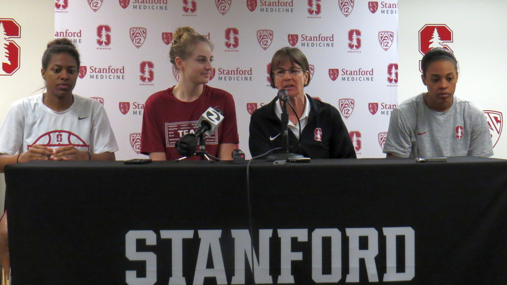 Stanford unfazed by starting NCAA Tournament play on the road, VanDerveer and Trakh meet again